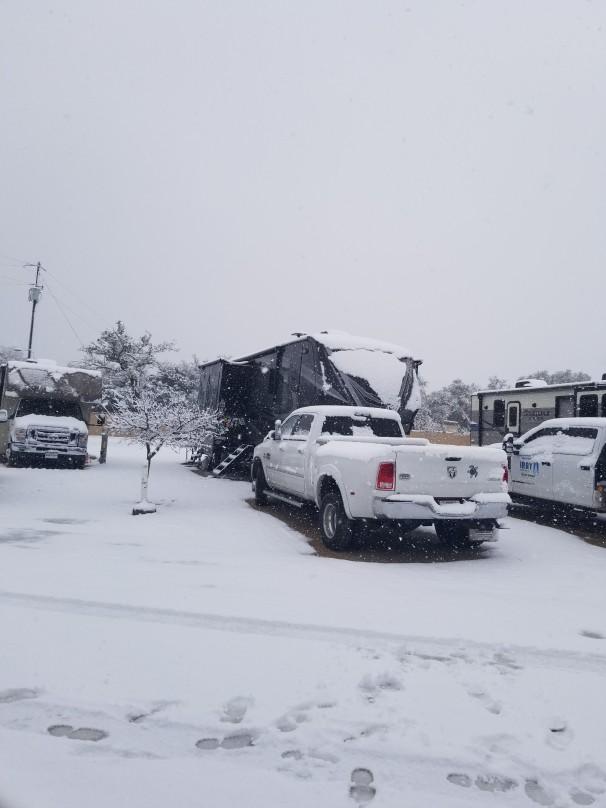 Central Texas winter 2021
