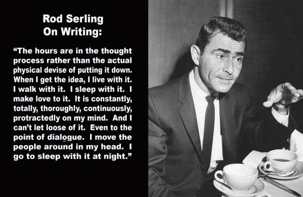 Rod Serling on writing